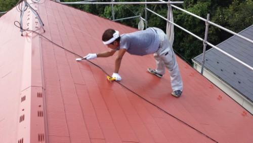 屋根縁切り写真